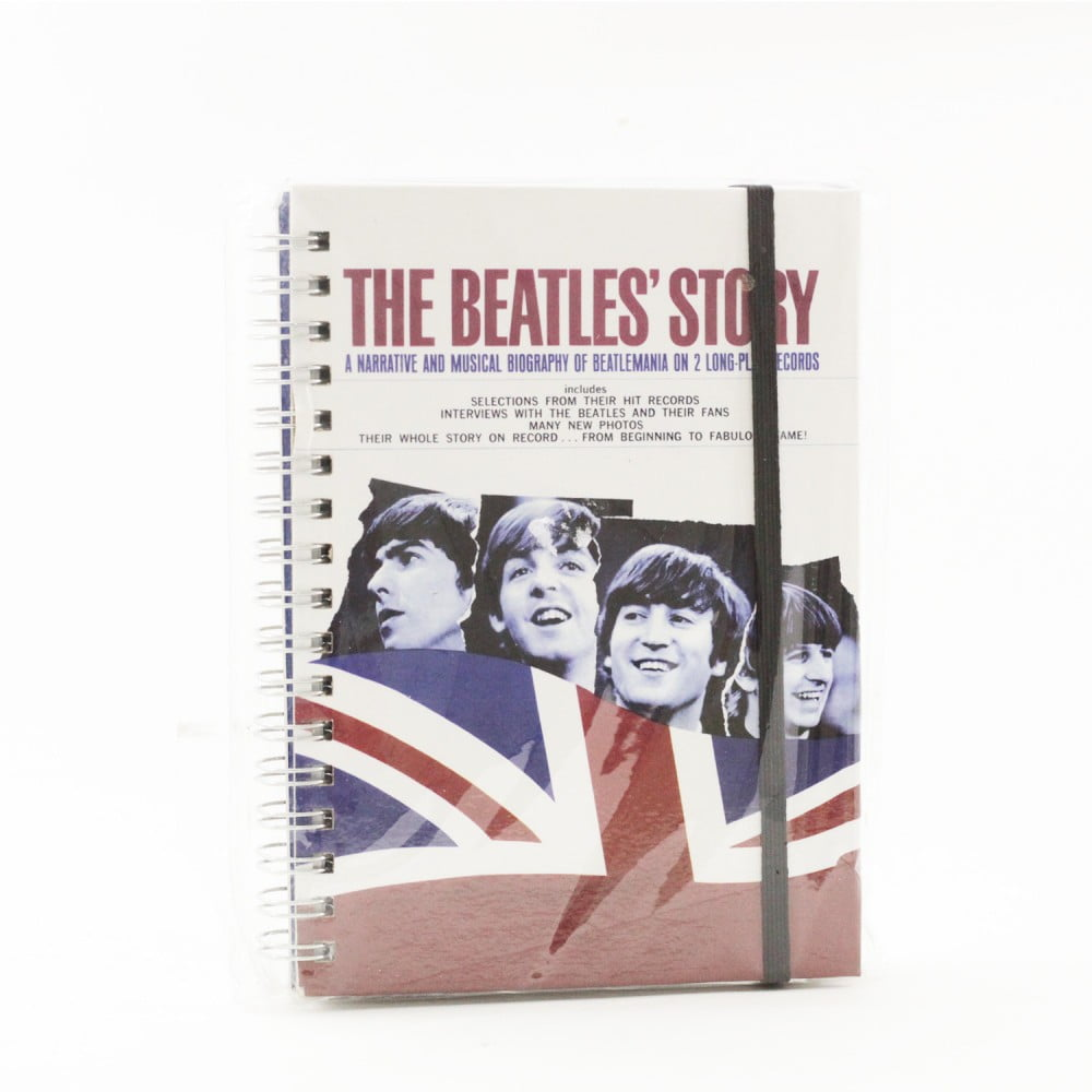 "Carnet de notes ""Beatles"" drapeau"