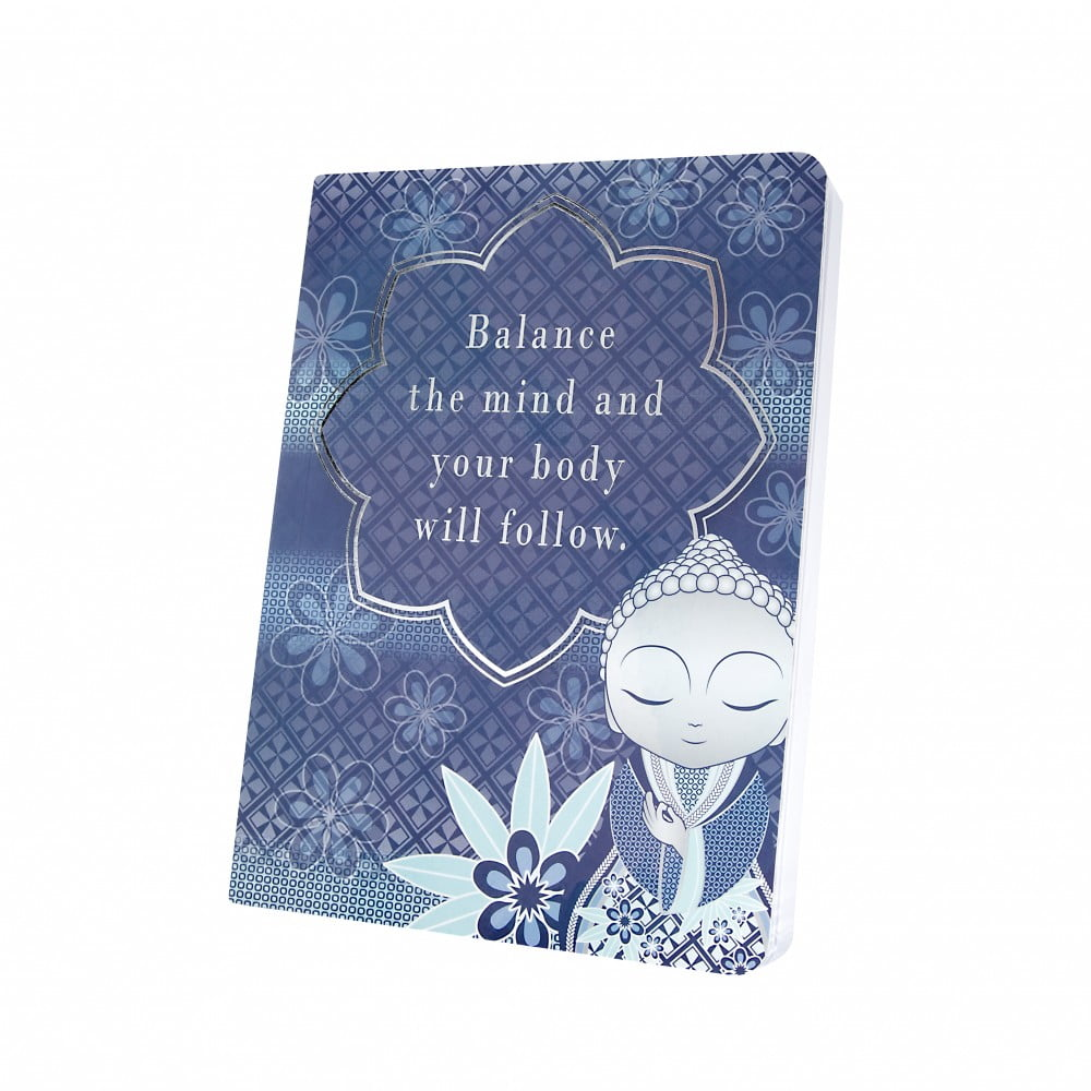 Carnet notebook Little buddha - equilibre