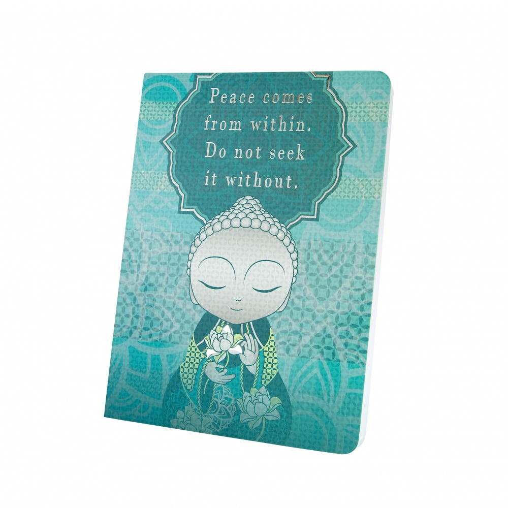 Carnet notebook Little buddha - paix