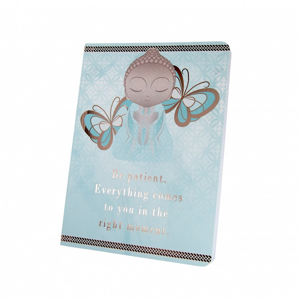 Carnet notebook Little buddha - patiente