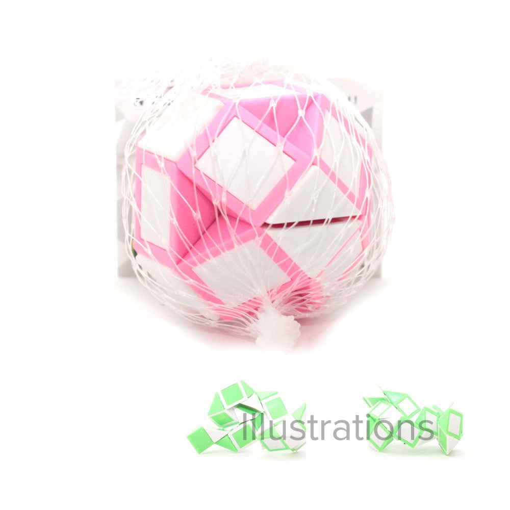 Casse tête 3d QI Ball rose