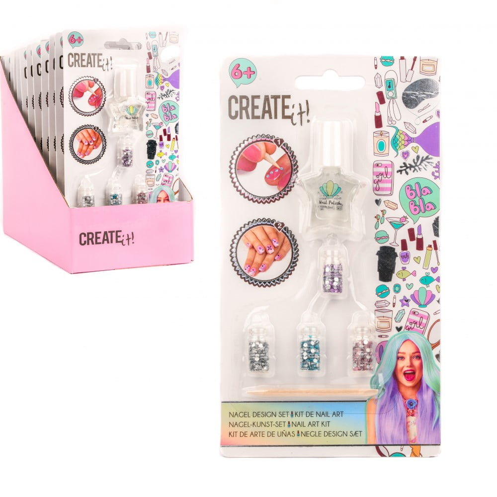 Kit décoration pour ongles Create it!