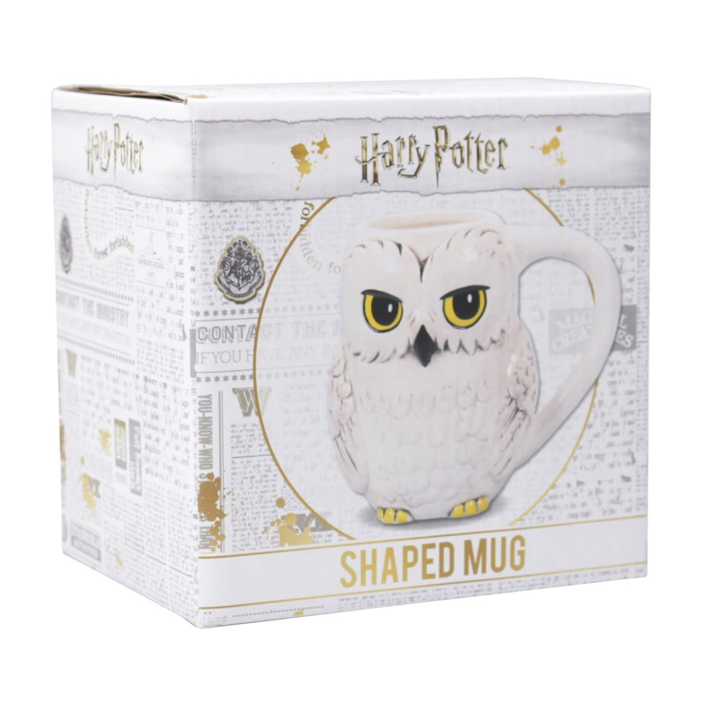 Mug relief Harry Potter Hedwig